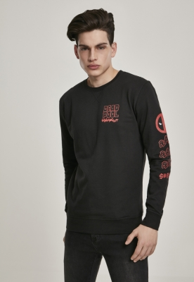 Bluza maneca lunga Deadpool Shliickt negru Merchcode