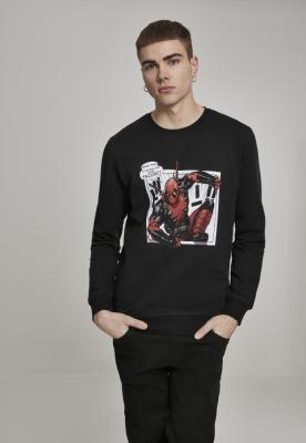 Bluza maneca lunga Deadpool Tacos negru Merchcode