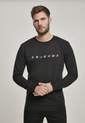 Bluza maneca lunga Friends Logo EMB negru Merchcode