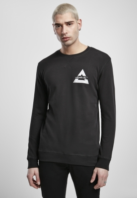 Bluza maneca lunga Mister Tee Triangle negru