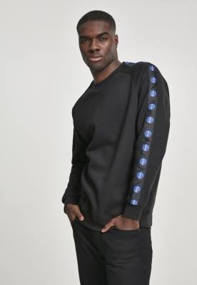 Bluza maneca lunga NASA Insignia Tape negru Mister Tee