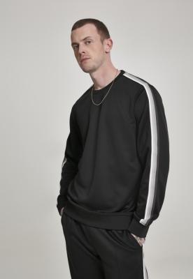 Bluza maneca lunga Sleeve Taped negru-gri Urban Classics