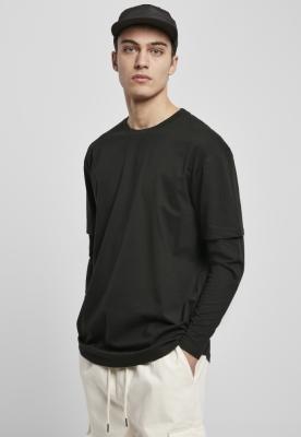 Bluza maneca lunga Tricou Oversized Shaped Double Layer Urban Classics