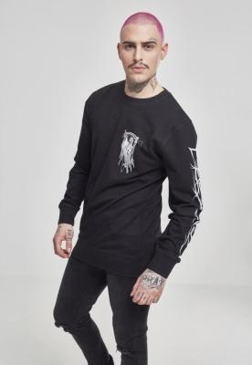 Bluza maneca lunga Trivium Pointing Reaper negru Merchcode