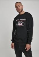 Bluza maneca lunga Wu Wear Globe negru-gri deschis WU-Wear