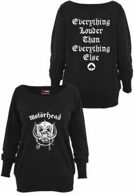 Bluza Motorhead Everything Louder pentru Femei negru Merchcode