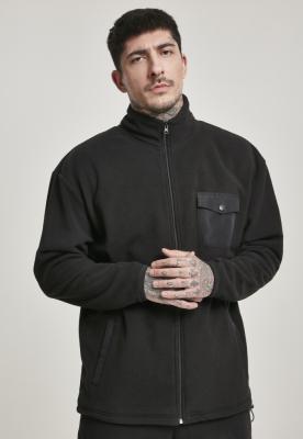 Bluza sport polar negru Urban Classics