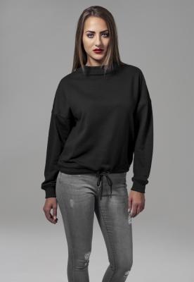 Bluza sport supradimensionata pentru Femei negru Urban Classics
