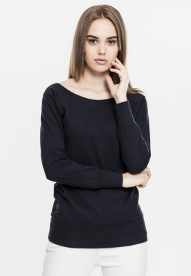 Bluza urban cu guler rotund