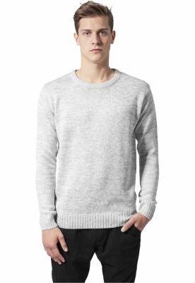 Bluze barbati elegante gri-alb Urban Classics