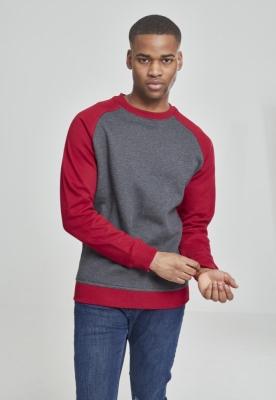 Bluze cu guler round doua culori