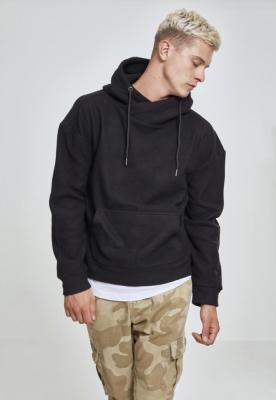 Bluze Hanorac Polar cu guler inalt negru Urban Classics