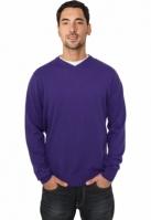 Bluze tricotate cu maneca lunga mov Urban Classics