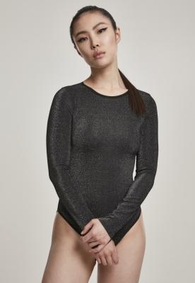 Body lurex pentru Femei argintiu Urban Classics