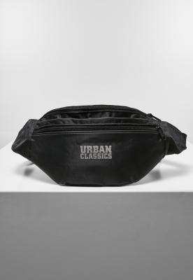 Borseta cu fermoar dublu Recycled Ribstop negru Urban Classics