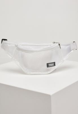 Borseta transparenta transparent-alb Urban Classics