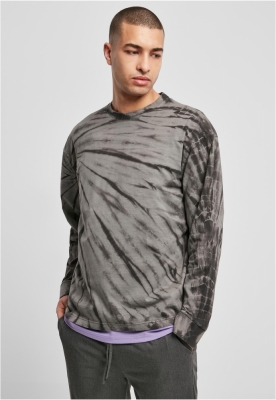 Bluza maneca lunga Boxy Tye Dye Urban Classics