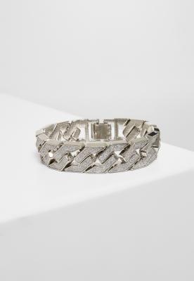 Bratari Glitter argintiu Urban Classics