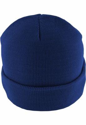 Caciula Beanie Basic Flap albastru roial MasterDis