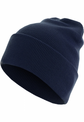 Caciula Beanie Basic Flap Long Version bleumarin MasterDis