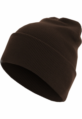 Caciula Beanie Basic Flap Long Version chocolate MasterDis