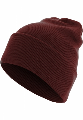 Caciula Beanie Basic Flap Long Version maro inchis MasterDis