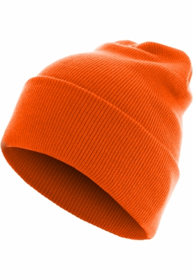 Caciula Beanie Basic Flap Long Version potocaliu neon MasterDis