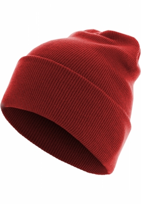 Caciula Beanie Basic Flap Long Version rosu Urban Classics
