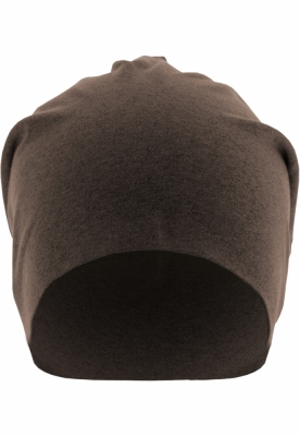 Caciula Beanie Heather Jersey chocolate MasterDis