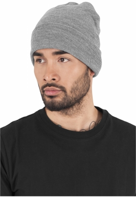 Caciula Beanie Heavyweight Long deschis-gri Flexfit
