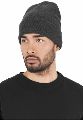 Caciula Beanie Heavyweight Long gri carbune Flexfit