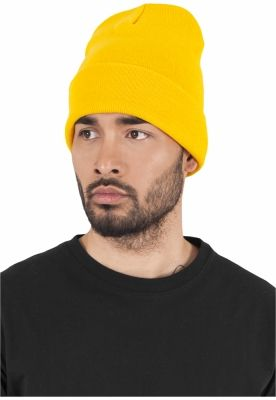 Caciula Beanie Heavyweight Long auriu Flexfit