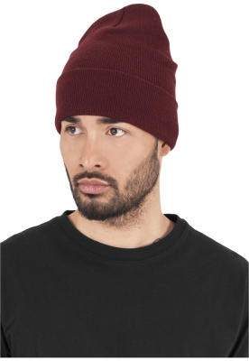 Caciula Beanie Heavyweight Long maro inchis Flexfit