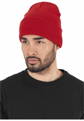 Caciula Beanie Heavyweight Long rosu Flexfit