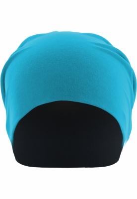 Caciula Beanie Jersey reversible turcoaz-bleumarin MasterDis