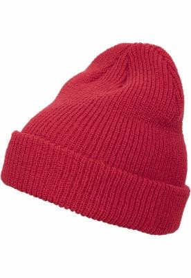 Caciula Beanie Long tricot rosu Flexfit