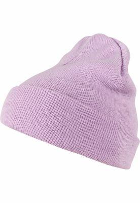 Caciula Beanie Pastel Basic Flap lavender MasterDis