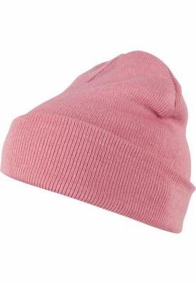 Caciula Beanie Pastel Basic Flap light-roz MasterDis