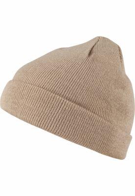 Caciula Beanie Short Pastel Cuff tricot cappuccino MasterDis