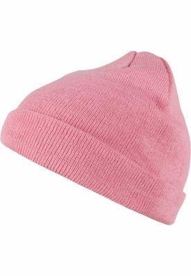 Caciula Beanie Short Pastel Cuff tricot light-roz MasterDis