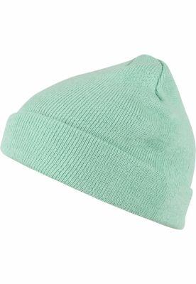 Caciula Beanie Short Pastel Cuff tricot lt.mint MasterDis