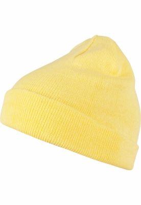 Caciula Beanie Short Pastel Cuff tricot vanilie MasterDis