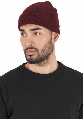 Caciuli Beanie Heavyweight maro inchis Flexfit