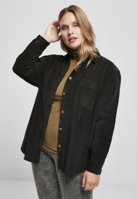 Camasa reiat oversized pentru Femei negru Urban Classics