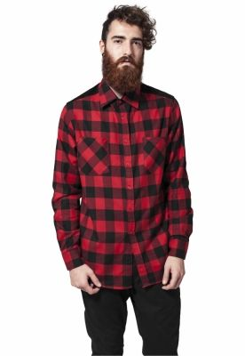 Camasa urban Cord Patched Checked Flanell Urban Classics