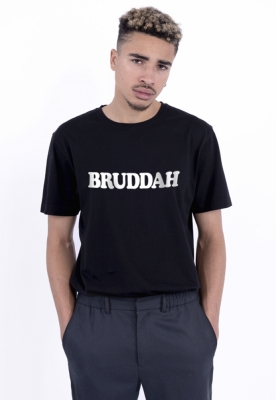 Tricou C&S WL Bruddah negru-alb Cayler and Sons