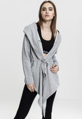 Cardigan sport asimetric pentru Femei gri Urban Classics