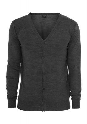 Cardigan tricot gri carbune Urban Classics