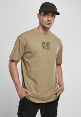 Chinese Symbol Tee kaki-negru Urban Classics