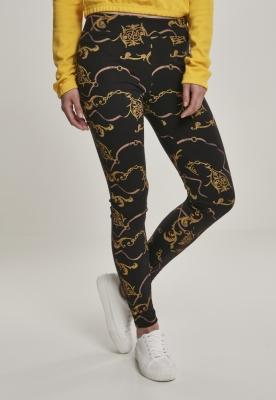 Colanti AOP Luxury Print pentru Femei luxury-negru Urban Classics